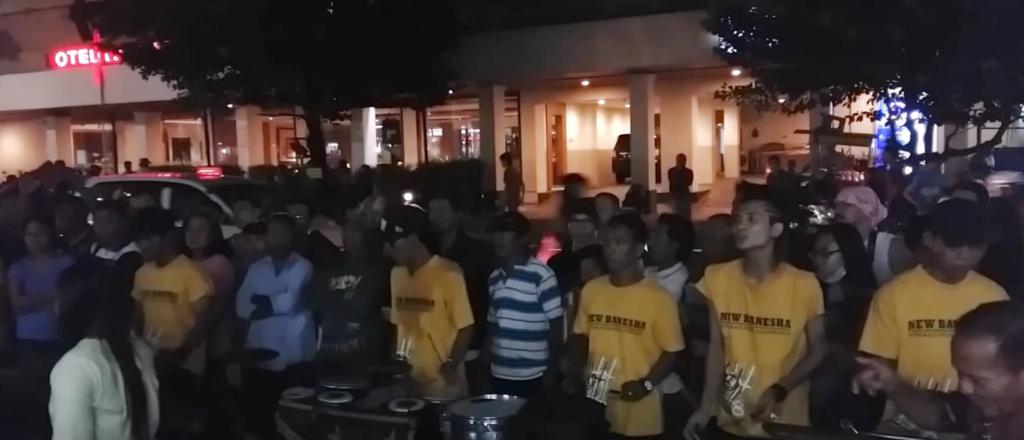Angklung bands at Jalan Malioboro, Yogyakarta