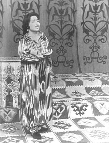 Berta Davydova. Tashkent, 1997