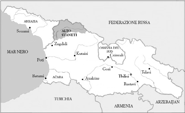 Georgia E Alto Svaneti
