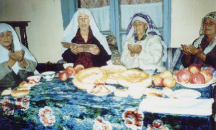 Otin Oys' Gathering In Gushtyemas Village, Ferghana Valley, 2002