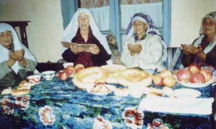 Otin Oys' Gathering In Gushtyemas Village, Ferghana Valley, 2002
