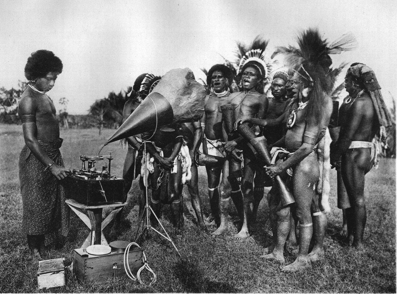 Rudolf Pöch Field Work In Papua New Guinea, Cape Nelson, 1905