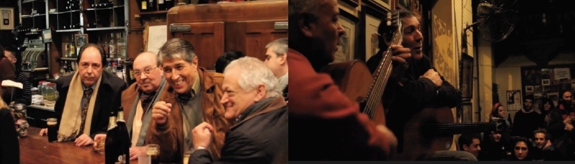 Screenshots From A Common Place Showing Carlos Señorelli And Augustin Ortega