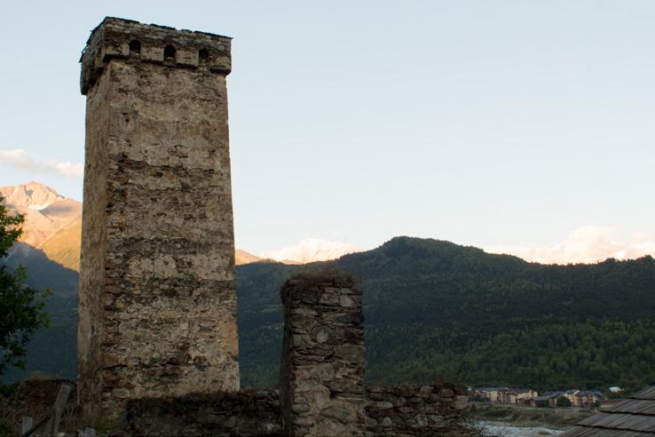 Torre Svana, Murq'vam Mestia, Agosto 2016 Foto Tumminello