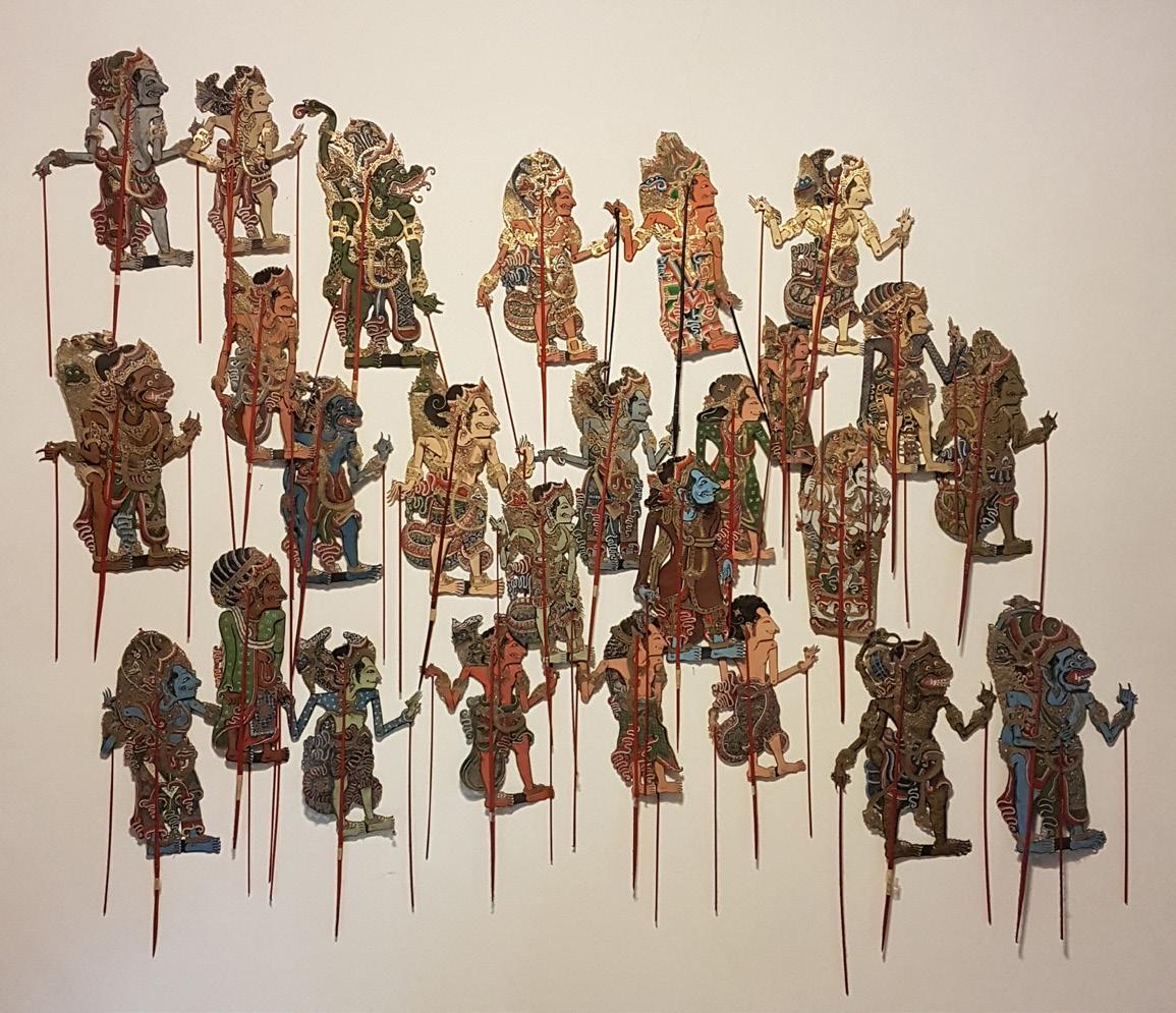 Indonesian Shadow Puppets (wayang Kulit)