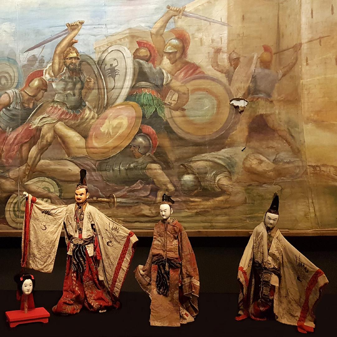 Japanese Puppets (bunraku)