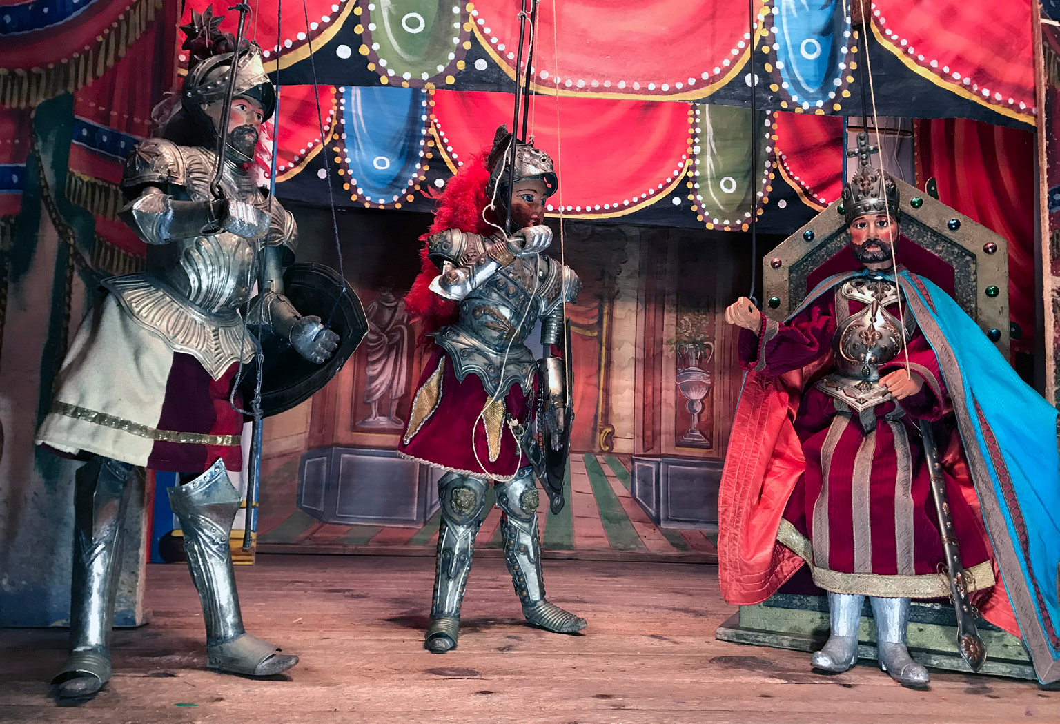 Sicilian Puppet Show (opra î Pupi) 2