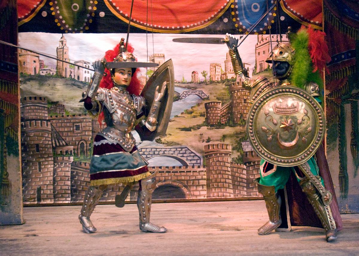 Sicilian Puppet Show (opra î Pupi)