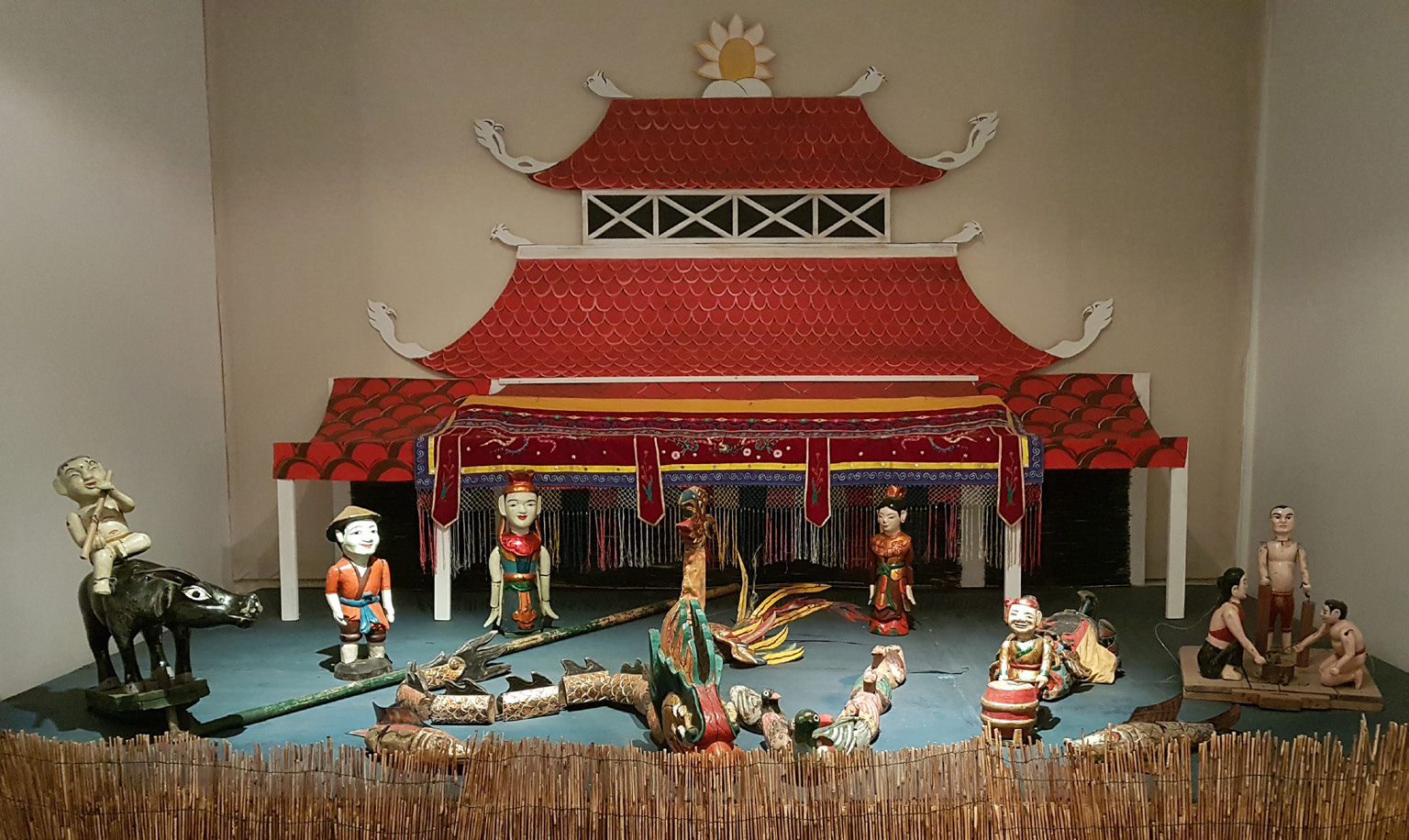 Vietnamese Water Puppet Theater