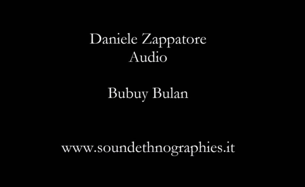 Audio – Bubuy Bulan