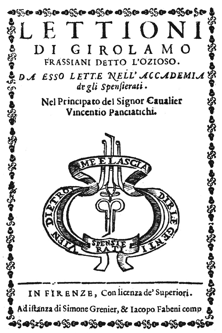 FIGURE-2.-Frontispiece-of-the-book-Lettioni-di-Girolamo-Frassiani-detto-l'Ozioso
