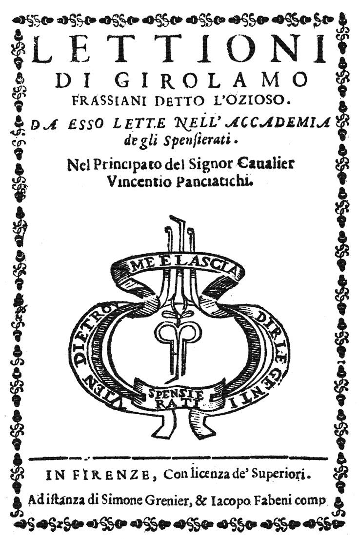 FIGURE-2.-Frontispiece-of-the-book-Lettioni-di-Girolamo-Frassiani-detto-l'Ozioso