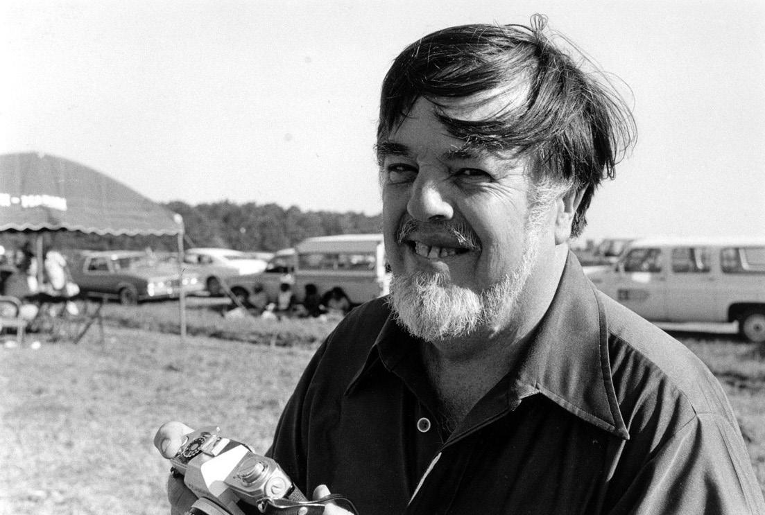 FIGURE 2. Alan Lomax at the Delta Blues Festival in Greenville, Mississippi, 1979