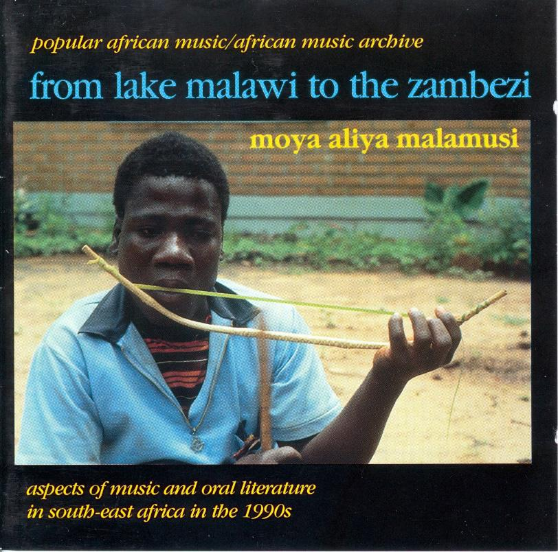 FIGURE 3. Daimon Tembo from Mozambique plays his self-constructed friction bow nyakazeze