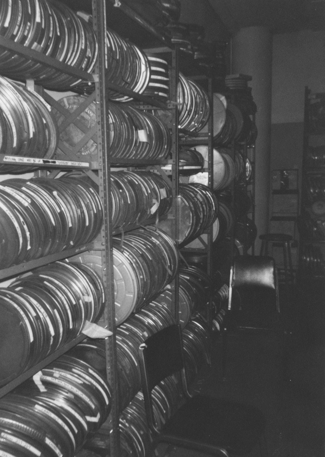 FIGURE 4. The film archive in the original offices of the ACE