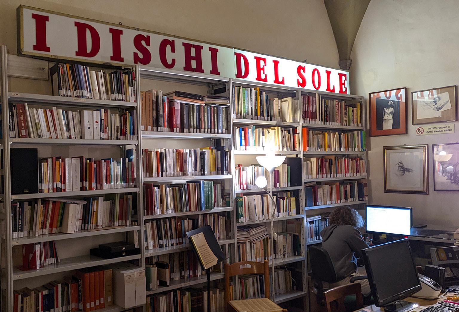 FIGURA 12. Istituto Ernesto de Martino, biblioteca, 2021 (foto: G. Chessa)