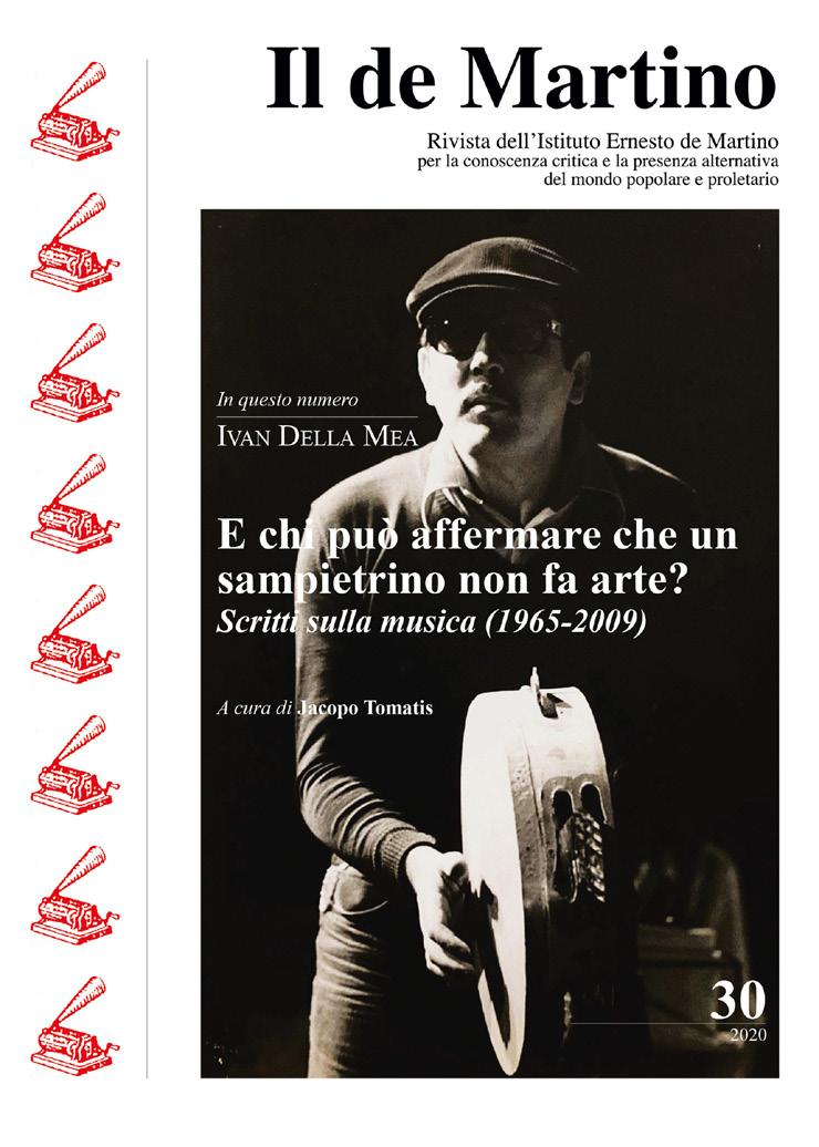 FIGURA 13. Copertina dell'ultimo numero della rivista Il de Martino, 2020.